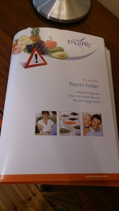 Omslaget till ImuPro300, en allergiutredning