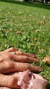 Rosa naglar i giftfritt